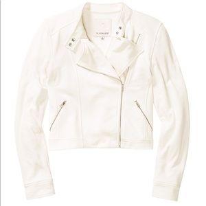 Sunday Best White Kerouac Moto Jacket